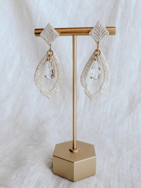 Clay & Fern Co Teardrop/Charm Clay Earrings