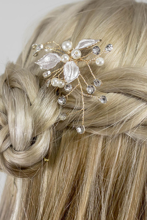 Flora Hairpin. A vintage hairpin with boho vibes. Wear one, wear them all.