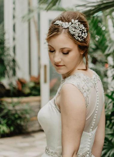 Bridesmaid hairpieces