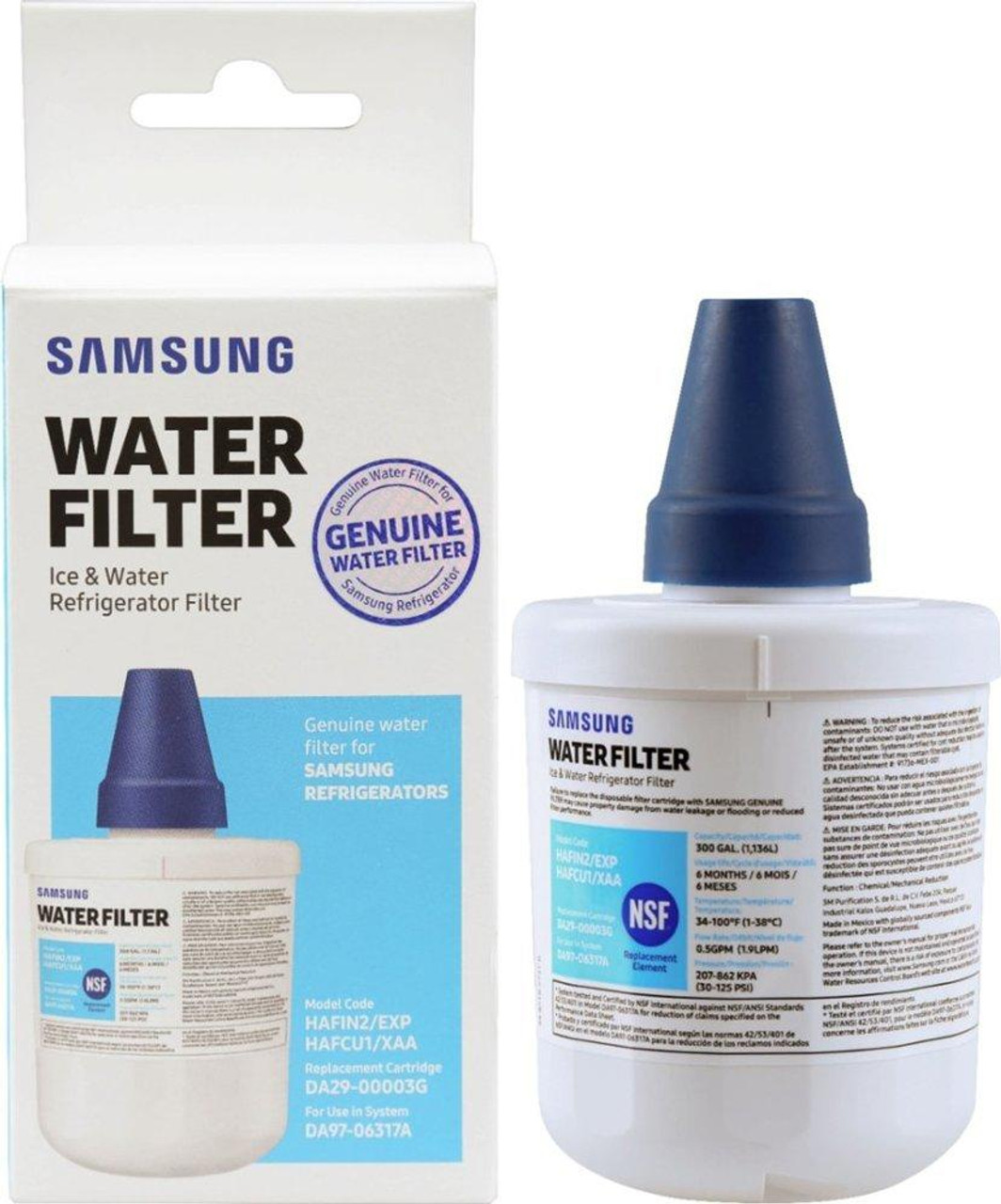 Samsung Da29 00003g Haf Cu1 Xaa Aqua Pure Plus Water Filter Redstag Supplies