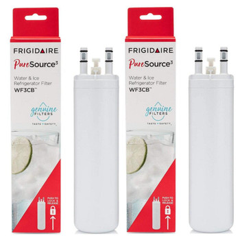2 Pack WF3CB Frigidaire Puresource3 Refrigerator Water Filter 9 inch