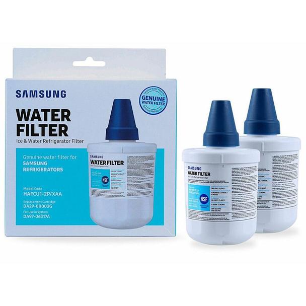 2 Pack DA29-00003G Samsung HAF-CU1/XAA Aqua Pure Plus Water Filter