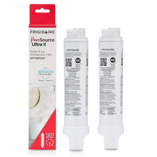 2 Pack Frigidaire EPTWFU01 PureSource Ultra II Refrigerator Water Filter