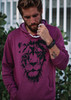 ULTRA SOFT LION HOODIE