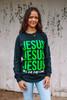JESUS JESUS JESUS - GREEN LS