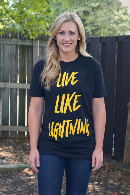 LIVE LIKE LIGHNTING - SALE