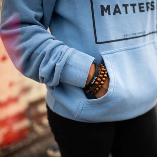 HOPE Rubber Bracelet