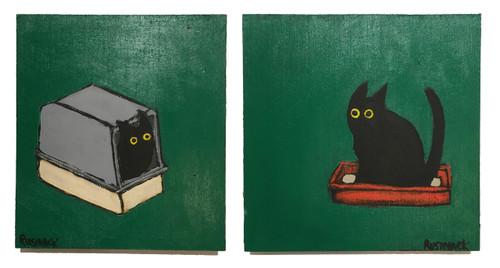 Sherry Rusinack: Poop & Pee (green set)