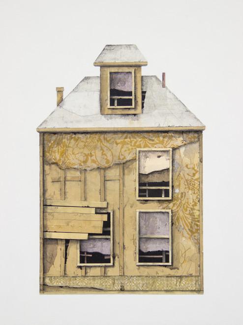 Seth Clark: House Portrait (yellow)