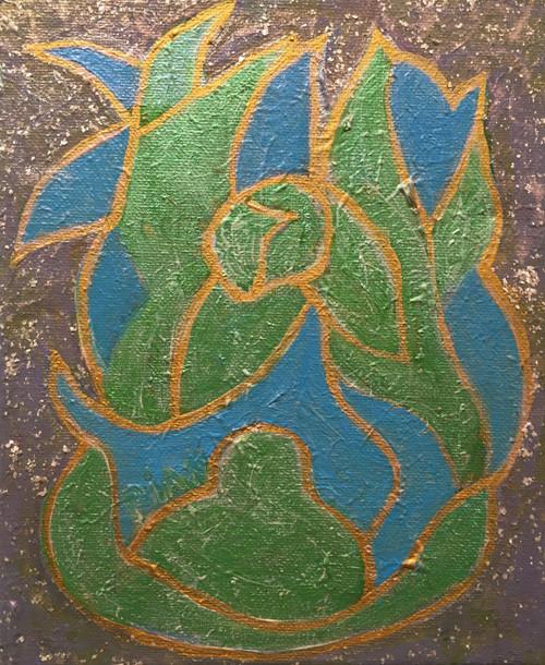 Richard Pian: Meditative Garden II