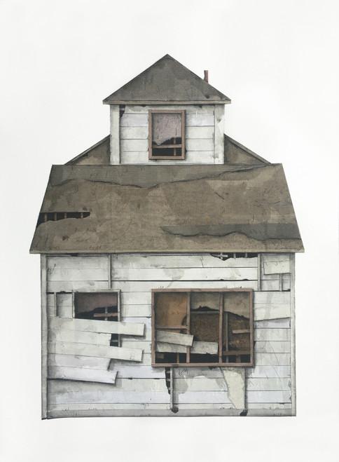 Seth Clark: House Portrait (white siding)