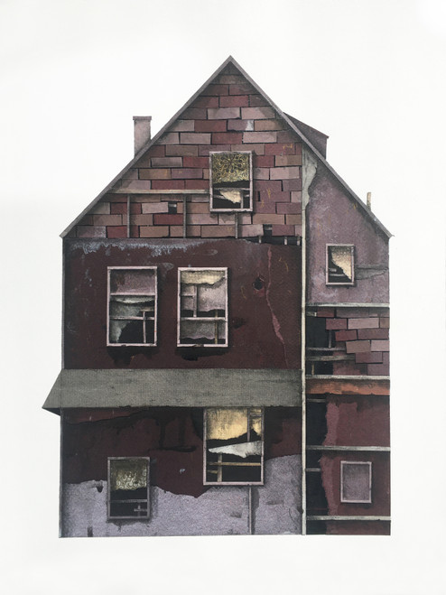 Seth Clark: House Portrait (window pattern)