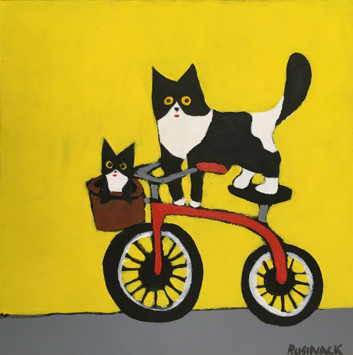Sherry Rusinack: And We're Off (yellow)