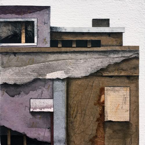 "Seth Clark: Roof Top Blocks (4"" X 4""s)"