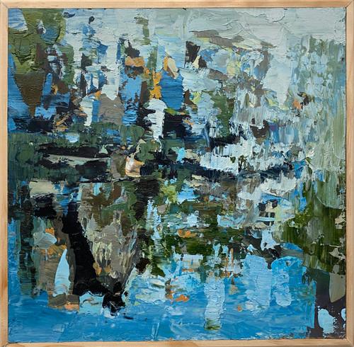 Heather Kanazawa: Lake and Tree Reflections