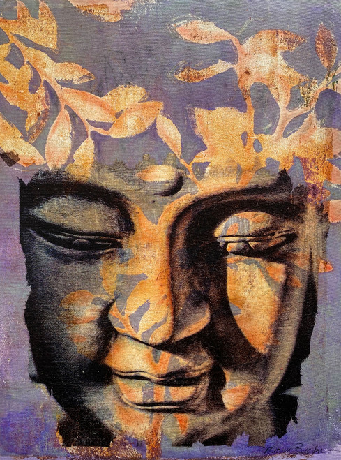 Mary Becker: Botanical Buddha