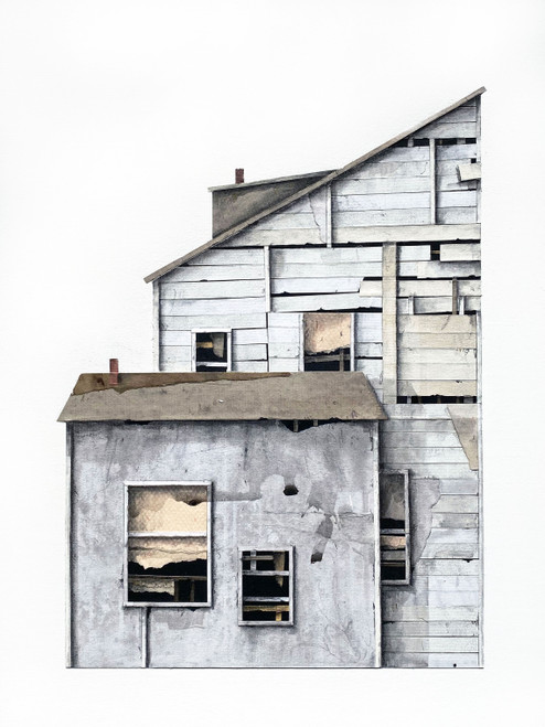 Seth Clark: House Portrait IV (cool shades)