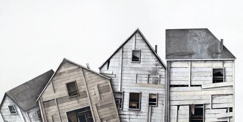 Seth Clark: Untitled House Portraits II (together)