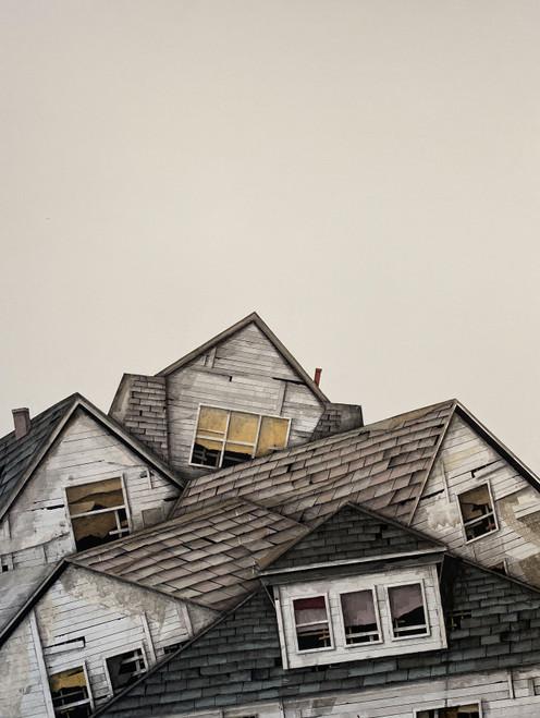 Seth Clark: Rooftops I