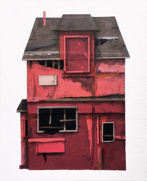 Seth Clark: House Portrait (red)