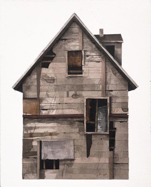 Seth Clark: House Portrait (grey)
