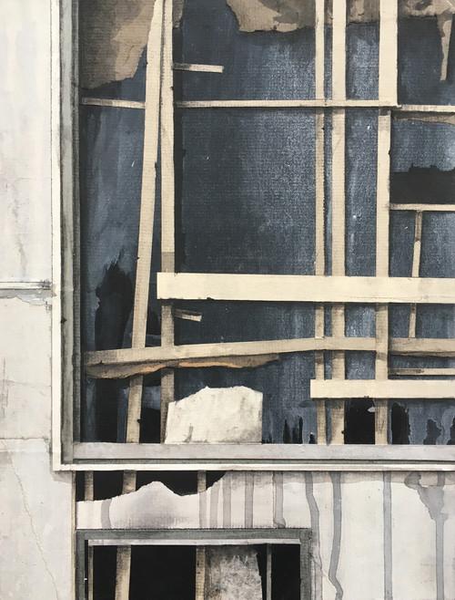 Seth Clark: Fragments Study (blue)