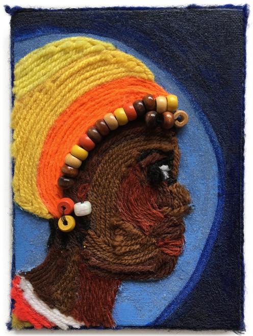 Nzuji De Magalhaes: African Woman