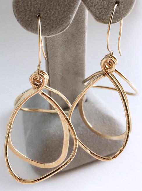 Celest Michelotti: Soft Triangles Earrings
