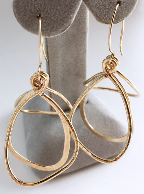Celest Michelotti: Soft Triangles Earrings