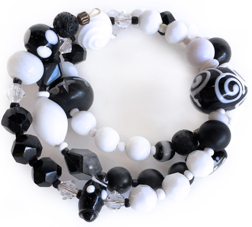 SueAnn Southworth: Black and White Wrap
