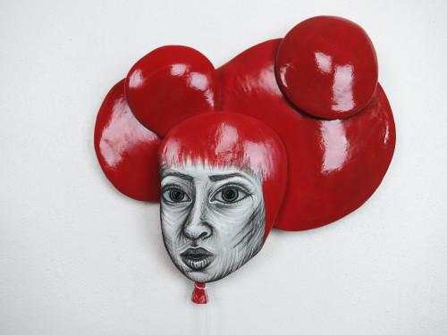 Hannah Pierce: Red Balloon Head (right)