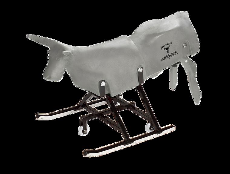 "*2020 Edition* Grey Super Slider roping dummy. ""Heel-O-Matic"" on the back - Heel-O-Matic"