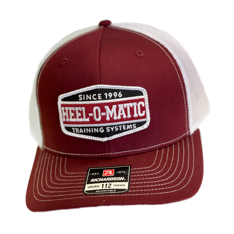 Cardinal Red & White Patch Hat