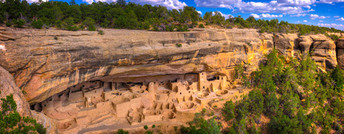 """'Mesa Verde"""" by Cavanah. This is a limited edition, signed and numbered giclŽe print.  A certificate of authenticity will be included with your purchase"""