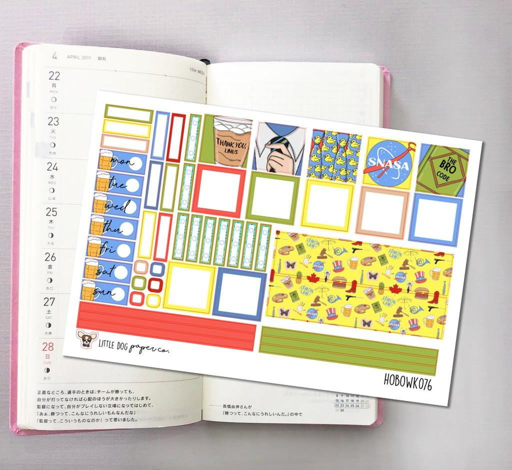 Legendary Hobonichi Sticker Kit