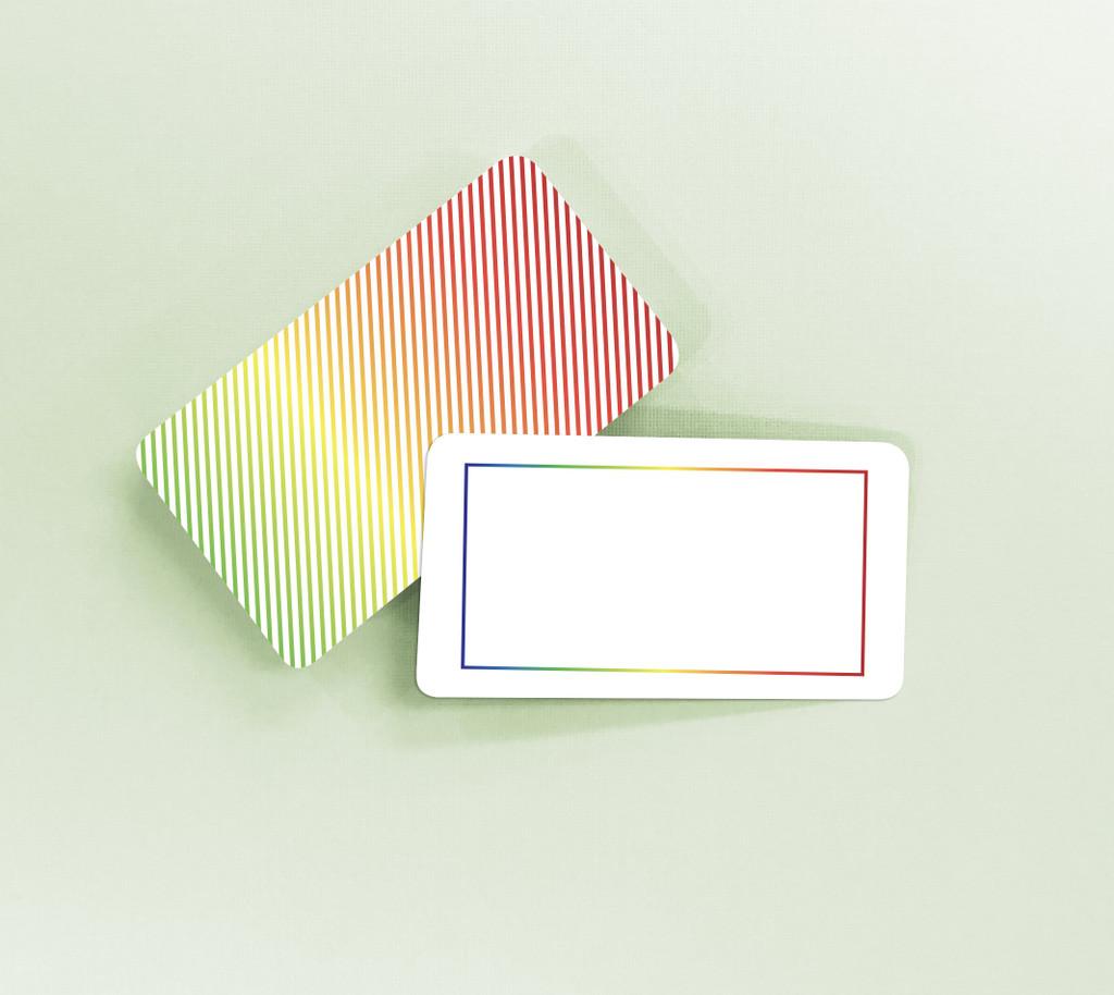 Rainbow Tiny Notes