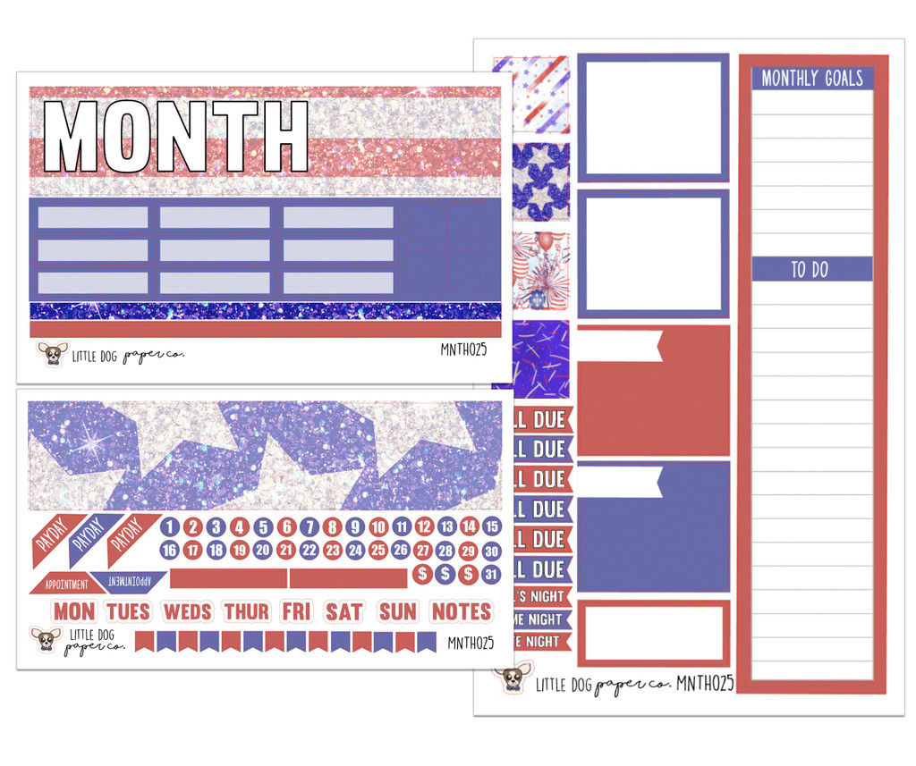 Monthly Kit // Independence