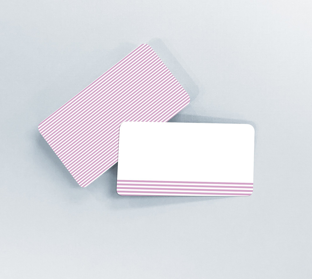 Pink Stripes Tiny Notes