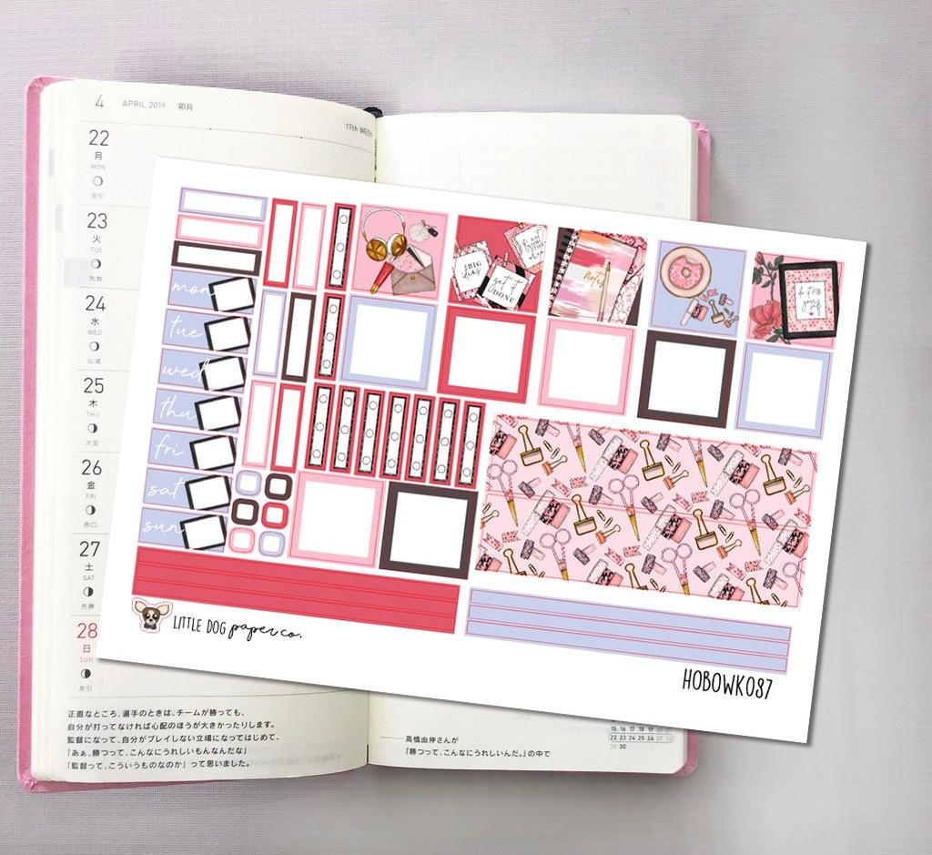 Time to Plan Hobonichi Sticker Kit