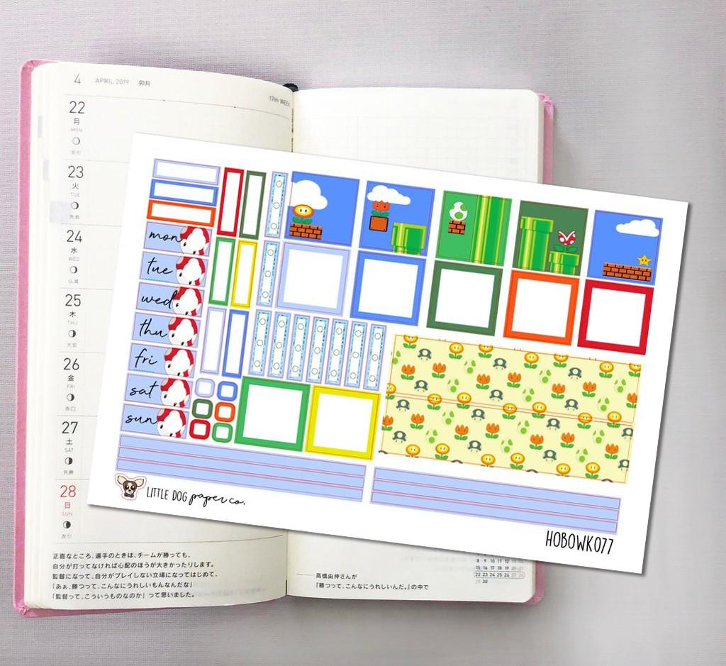 One Up Hobonichi Sticker Kit