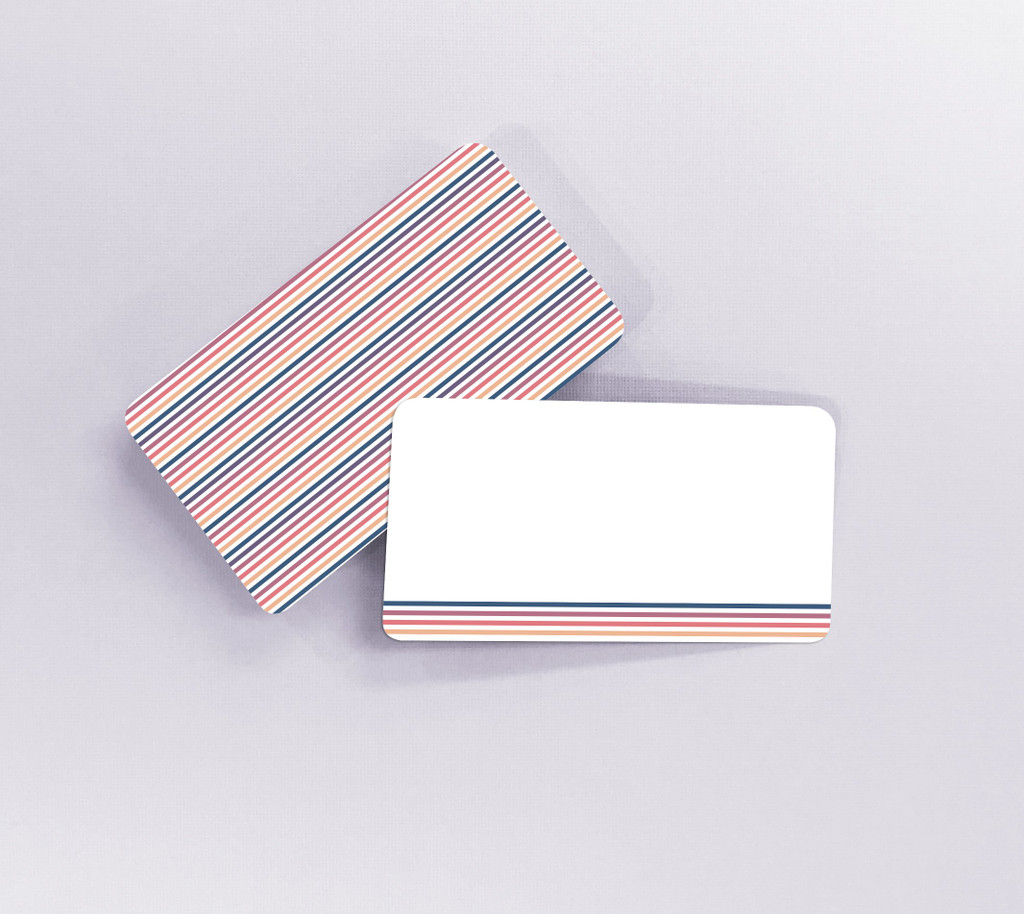 Multicolored Stripes Tiny Notes