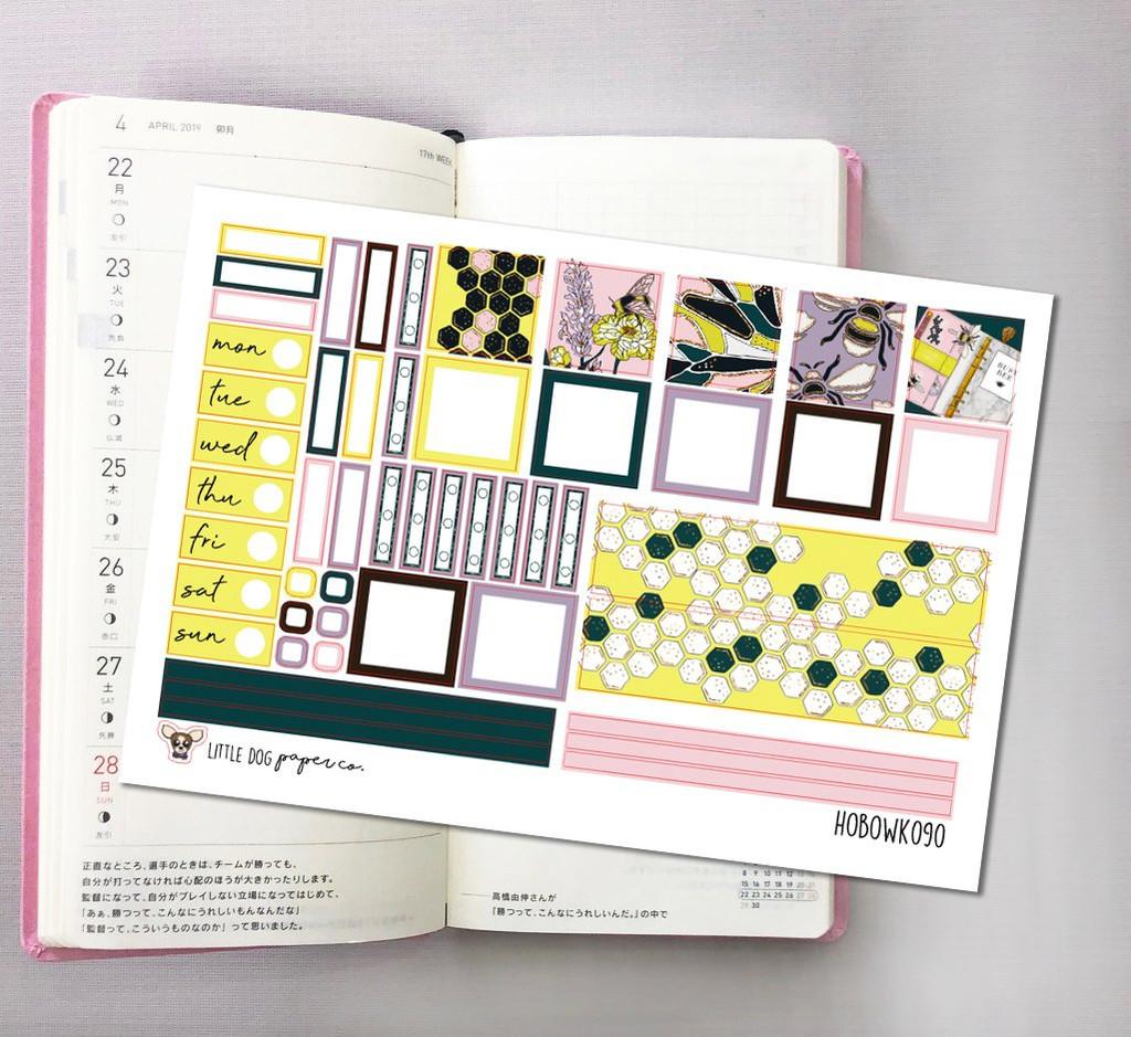 Bumble Babe Hobonichi Sticker Kit