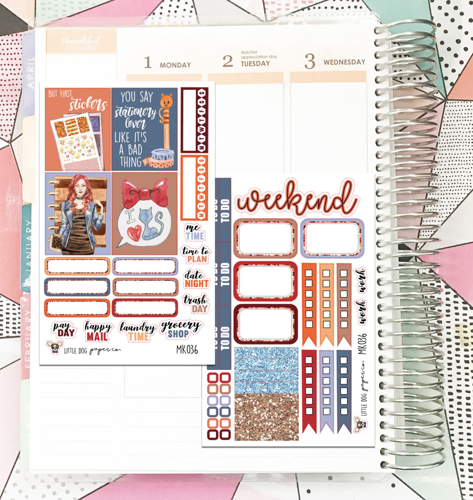 Planner Girl Collection Mini Kit