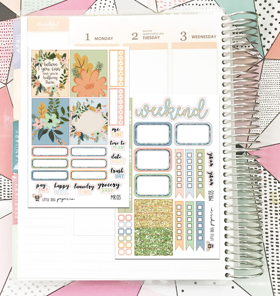 Soft Floral  Collection Mini Kit