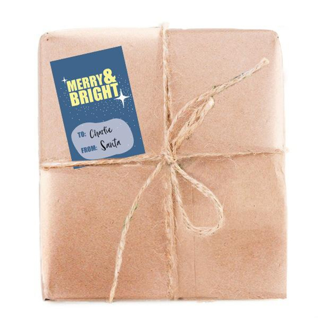 Merry and Bright Gift Tag