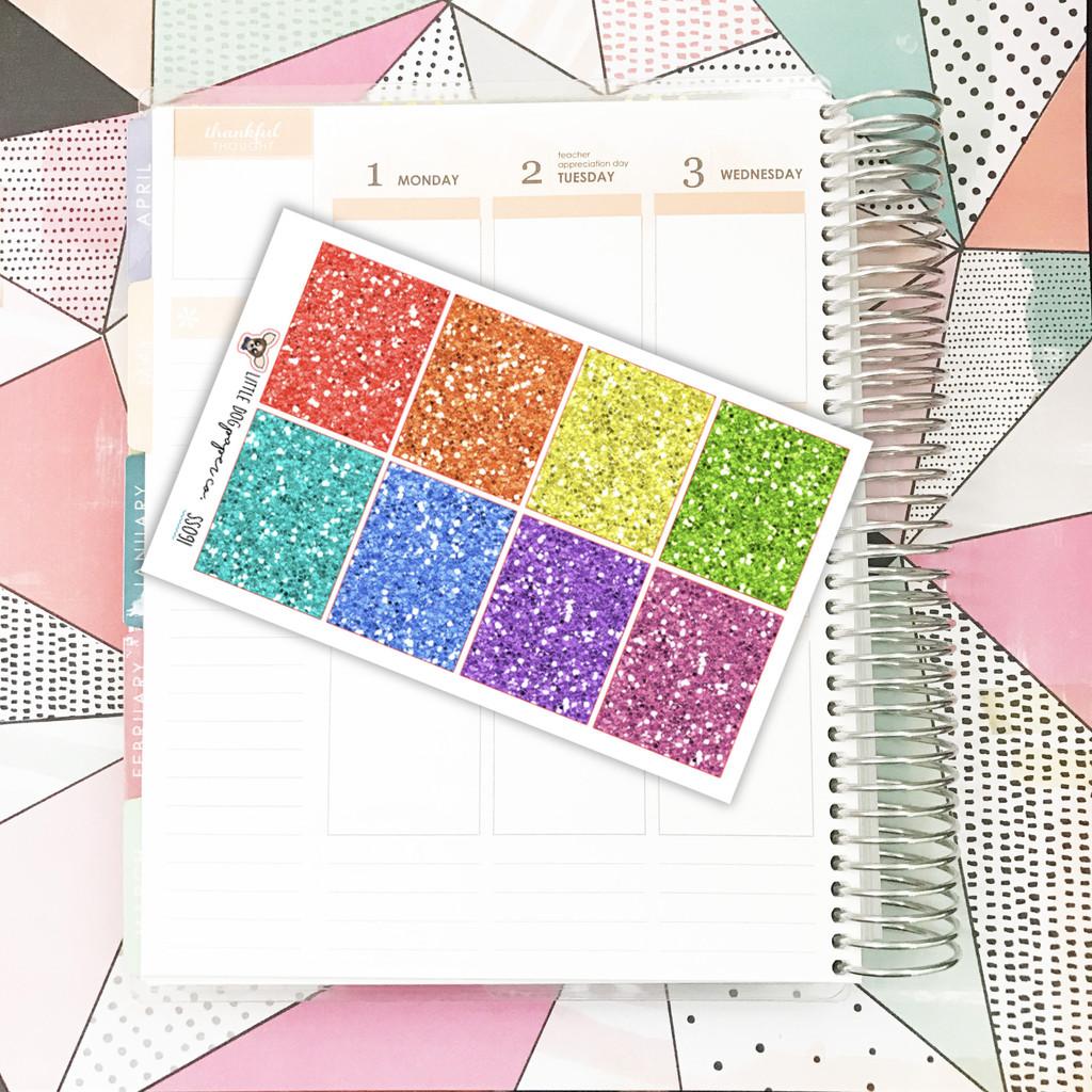Multicolor Glitter Full Boxes