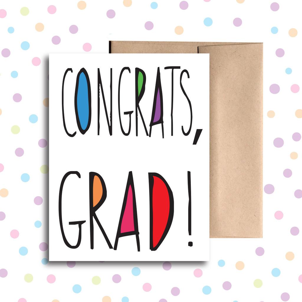 Congrats Grad Card