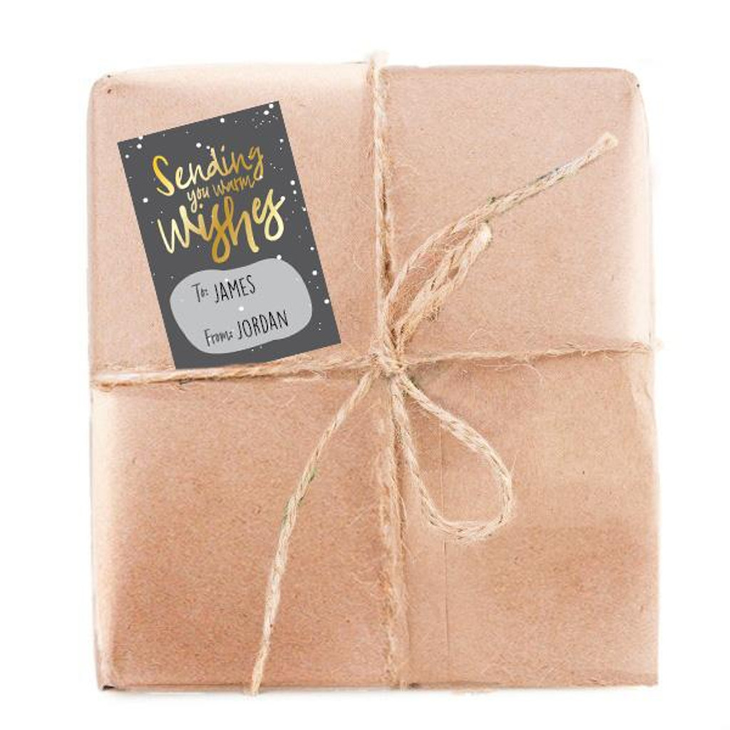 Sending Warm Wishes Gift Tags