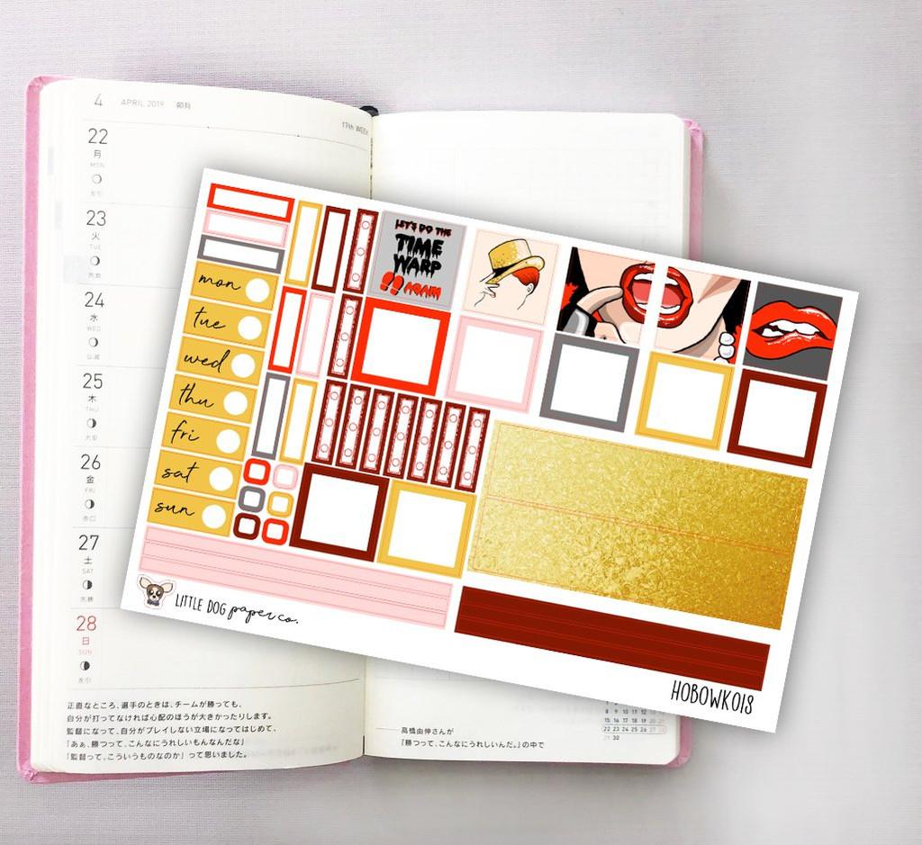 Time Warp Hobonichi Sticker Kit