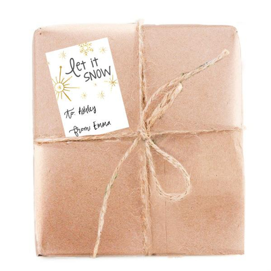 Let it Snow Gift Tags